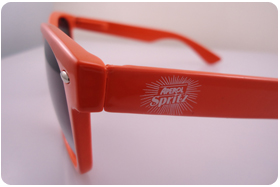 printed sun glasses